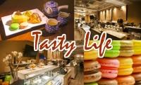 Downtown甜点店Tastylife Cafe甜蜜双人下午茶【奶油泡芙(抹茶/香草/伯爵/巧克力选二)+蛋糕(柠檬奶酪/巧克力慕斯/提拉米苏选二)+马卡龙+经典英式花果茶等任选一壶】原价$22.84,优品价$12.5(含税)!尽享美好时光!