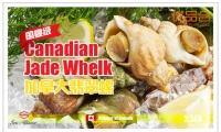 翡翠螺螺肉丰腴细腻,味道鲜美,素有盘中明珠的美誉,是加拿大的国宴佳品!翡翠螺富含蛋白质,维生素,和人体必备的的氨基酸和微量元素,是典型的高蛋白,低脂肪,高钙质天然动物性保健品【国宴食材-翡翠螺1盒(2.5磅/盒)】原价$27.5,优品价$20(含税)!