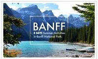 旅行是最美好的享受!夏季最美的景都在Banff班芙!【Banff洛基山夏日季四天精華之旅:華人領隊隨團照顧+全程空調旅遊客車+3晚酒店住宿+豪華巴士免費WIFI+觀光行程】原價$438,優品價$399/人(含稅)!