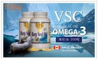 降低高血压及胆固醇,血管清道夫!【加拿大VSC海豹油一瓶(500mg*300粒)】原价$35,优品价$18.88(含税)!加拿大原装特产海豹油,来自北极的珍品,富含Omega-3极易被人体吸收利用,预防心血管疾病,对于心血管的维护效果显着!