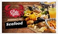 著名手扒海鮮餐廳-蝦拼蟹嗆So Crab So Good火爆推出【单人炸鸡/海鮮套餐(饭可换成pasta)+饮料】原价:$16.99!优品价:$11.99!